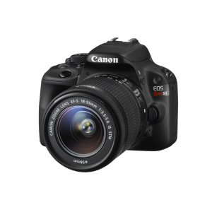 Canon EOS Rebel SL1 with EF-S 18-55mm f/3.5-5.6 IS STM Lens Kit Black Refurbished | Canon Online Store