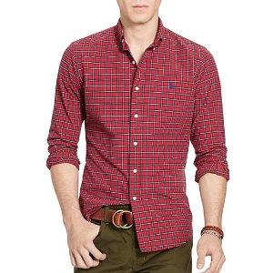 Polo Ralph Lauren Plaid Oxford Sport Shirt