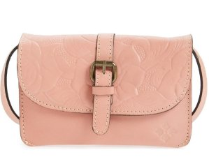 $59.4 Patricia Nash 'Tooled Rose - Torri' Italian Leather Crossbody Bag @ Nordstrom