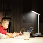 TaoTronics LED Desk Lamp, Dimmable LED Table Lamp, Cool White Reading Light, Eye-caring Book Light