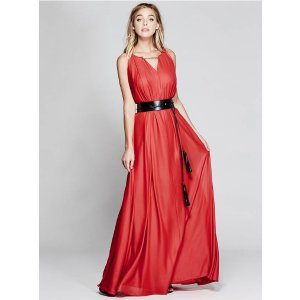 Chain-Neck Maxi Dress | GUESS by Marciano
