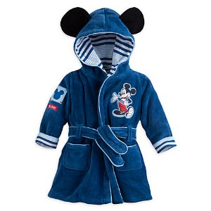 Mickey Mouse Bath Robe for Baby | Disney Store