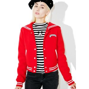 Lazy Oaf Bored Varsity Jacket | Dolls Kill