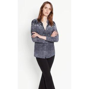 Women's SLIM SIGNATURE SILK SHIRT | Women's Sale by Equipment