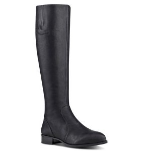NICOLAH WIDE CALF RIDING BOOTS