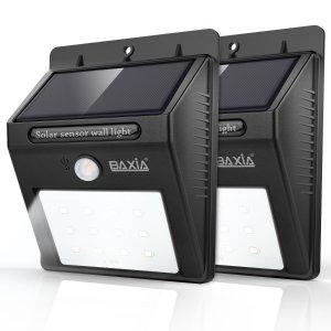 $20.99BAXIA TECHNOLOGY 无线防水户外感应夜灯,2个