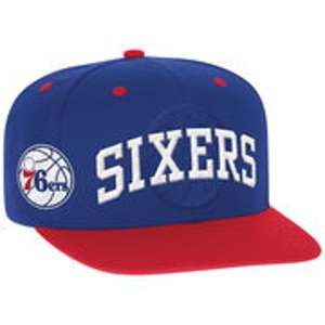 Men's Philadelphia 76ers adidas Royal 2016 NBA Draft Snapback Hat
