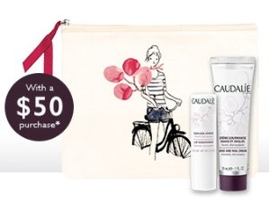 Free 3 Pc Gift with $50 Purchase @Caudalie