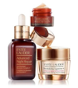 Last Day! 15% Off Estee Lauder Global Anti-Aging Gift Set @Bon-Ton