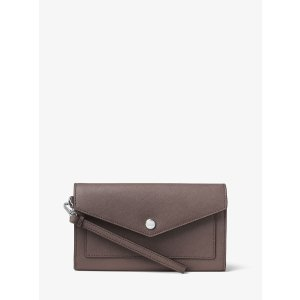 Honey Saffiano Leather Wallet by Michael Kors