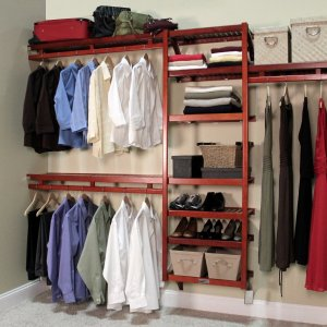 John Louis Home Standard Closet Shelving System