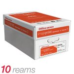Save Over 50% + Free Shipping! Office Depot® Brand ImagePrint® FSC Certified Multiuse Paper, White, 500 Sheets Per Ream, Case Of 10 Reams