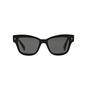 Prada PR 29RS 51 Grey & Black Sunglasses