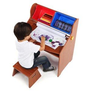 $39.99Tot Tutors Focus Wood Art Activity Desk and Stool Set