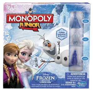 Prime Member Only! Monopoly Junior Game Frozen Edition