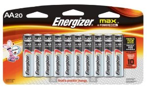 Energizer MAX AA Batteries, Designed to Prevent Damaging Leaks (20-Count)