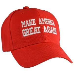 Donald Trump Make America Great Again Hats-red: Clothing