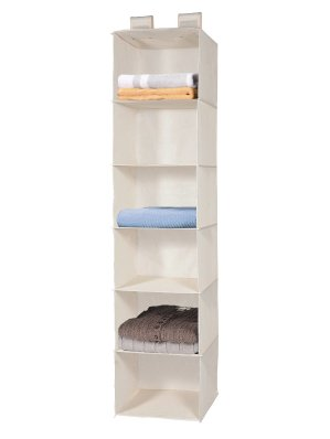 MaidMAX 6-Shelf Collapsible Hanging Accessory Shelves