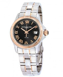 RAYMOND WEIL Parsifal Automatic 18K Rose Gold and Stainless Steel Men's Watch