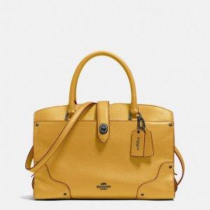 COACH Designer Handbags | Mercer Satchel 30 In Grain Leather