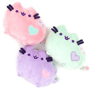 GUND Pusheen Pastel Pink Heart Plush