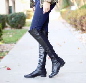 Dealmoon Exclusive!  30% OffStuart Weitzman 5050 Leather Over-The-Knee Boot @ ELEVTD