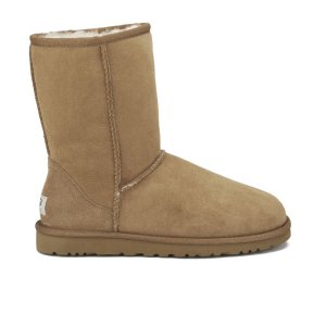 UGG Women's Classic Short Sheepskin Boots - Chestnut - Free UK Delivery over £50