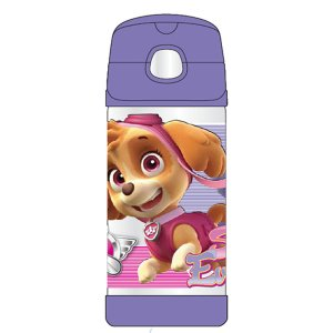 Thermos Stainless Steel Paw Patrol Girl FUNtainer Straw Bottle - 12 Punce - Thermos - Toys