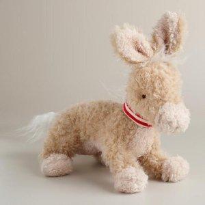 Jackie Stuffed Donkey   World Market