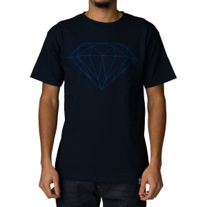 DIAMOND SUPPLY COMPANY TONAL BRILLIANT TEE - Navy | Jimmy Jazz - A16DPA30-NVY