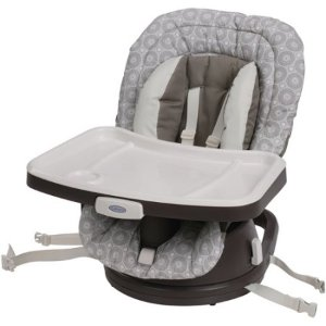 $42.39Graco SwiviSeat 3-in-1 High Chair Booster Seat, Abbington