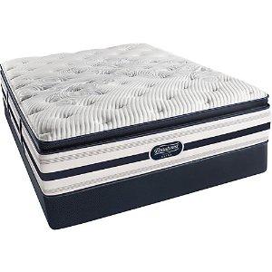 Queen Simmons Beautyrest Recharge Lydia Manor II Plush Pillow Top Mattress