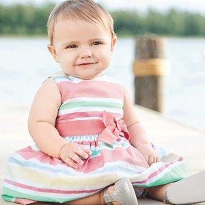 全场免运+低至5折+额外7.5-8.5折Carter's童装全场免运仅限今天!囤宝宝衣服啦!