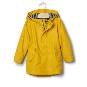 Jersey-lined raincoat | Gap