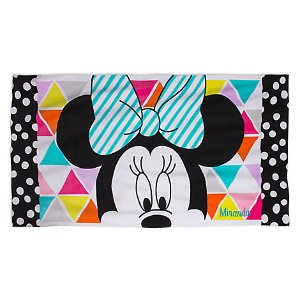 Minnie Mouse Beach Towel - Personalizable | Disney Store