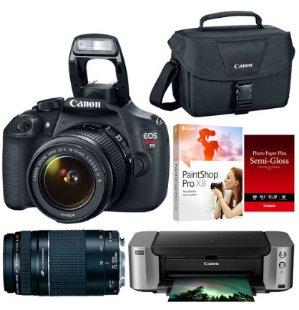 as low as $399 Canon DSLR Camera Bundles