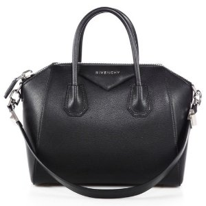 Antigona Small Leather Satchel by Givenchy