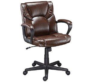 $59.99 包邮Staples Montessa II 皮质办公椅 (棕色)