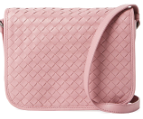 Intrecciato Leather Small Crossbody by Bottega Veneta