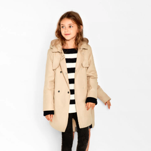 Hooded trench coat - View all-OUTERWEAR-GIRL | 4-14 years-KIDS | ZARA United States