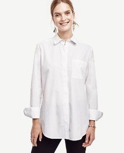 Extra 50% Off with Shirts Purchase @ Ann Taylor