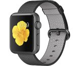 Apple Watch Sport 38mm Space Gray Aluminum Case Black MMF62LL/A