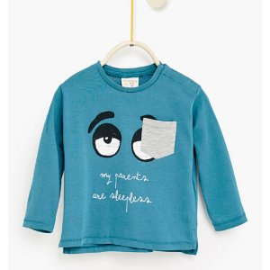 Text top with pocket #joinlife - SPECIAL PRICES-Baby boy-Baby | 3 months - 3 years-KIDS | ZARA United States