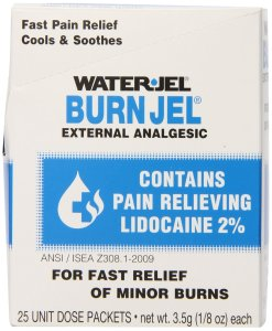 $10.82 Water Jel First Aid Burn Relief 25 count
