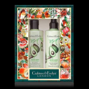 Avocado, Olive & Basil Bath & Body Duo - Crabtree & Evelyn
