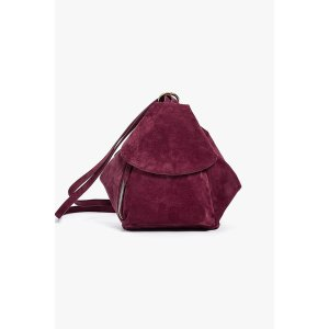 Mini Suede Backpack