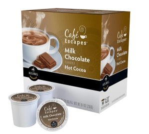 Keurig  Cafe Escapes Milk Chocolate Hot Chocolate K-Cups (16-Pack)