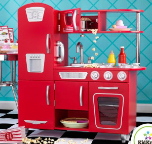 $80.99 KidKraft Red Retro Kitchen  @ Amazon