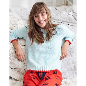 Aerie Pop Color Cable Knit Sweater, Ocean Aqua | Aerie for American Eagle
