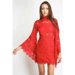 Mink Pink Drama Queen Lace Dress | South Moon Under